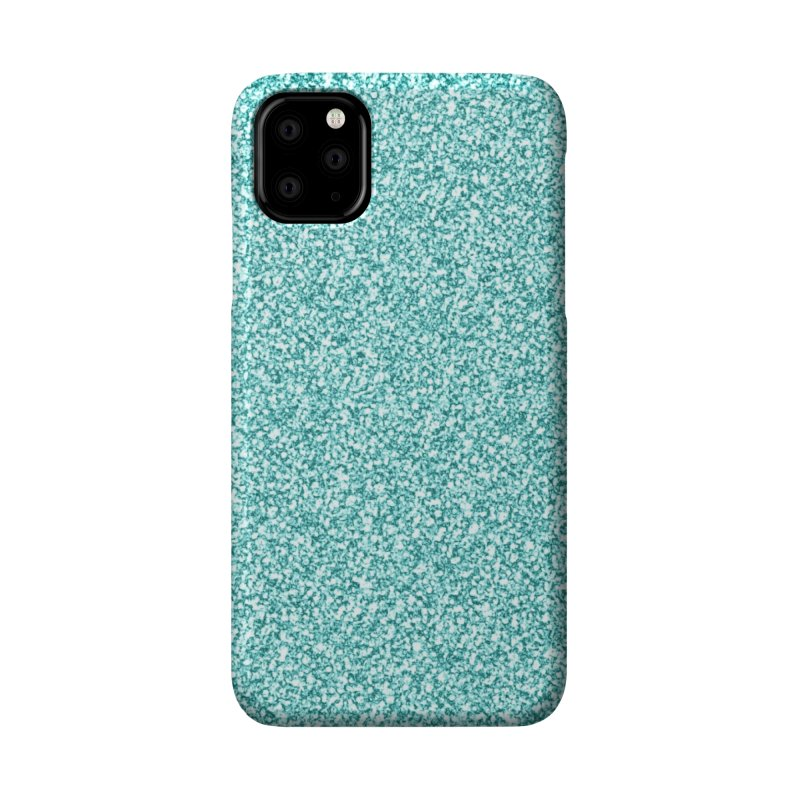 AQUA GLITTER Accessories Phone Case by IF Creation's Artist Shop