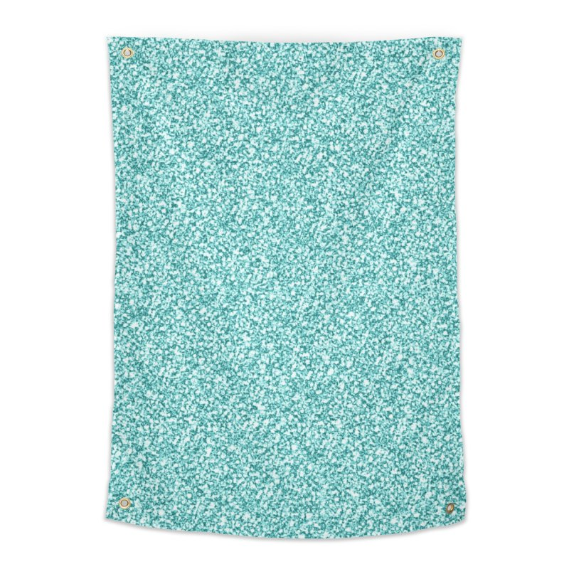 AQUA GLITTER Home Tapestry by IF Creation's Artist Shop