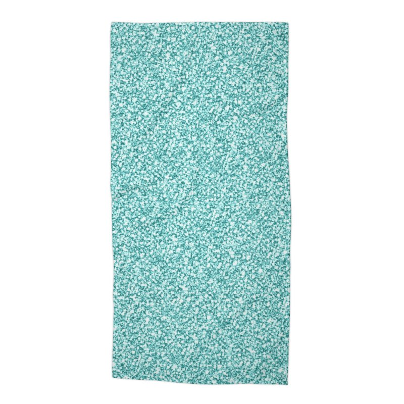 AQUA GLITTER Accessories Beach Towel by IF Creation's Artist Shop