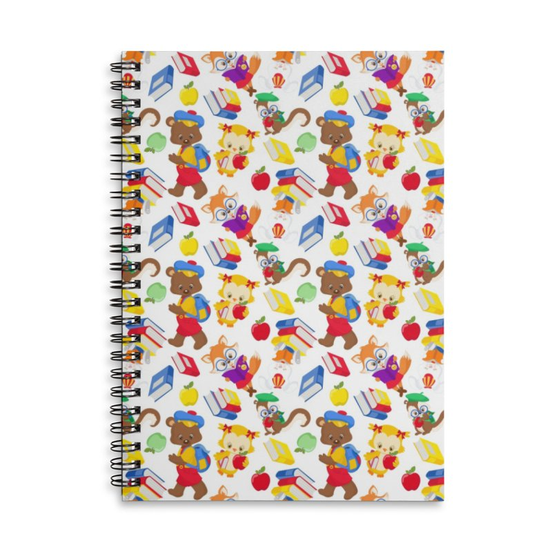 ANIMAL FOREST Accessories Lined Spiral Notebook by IF Creation's Artist Shop