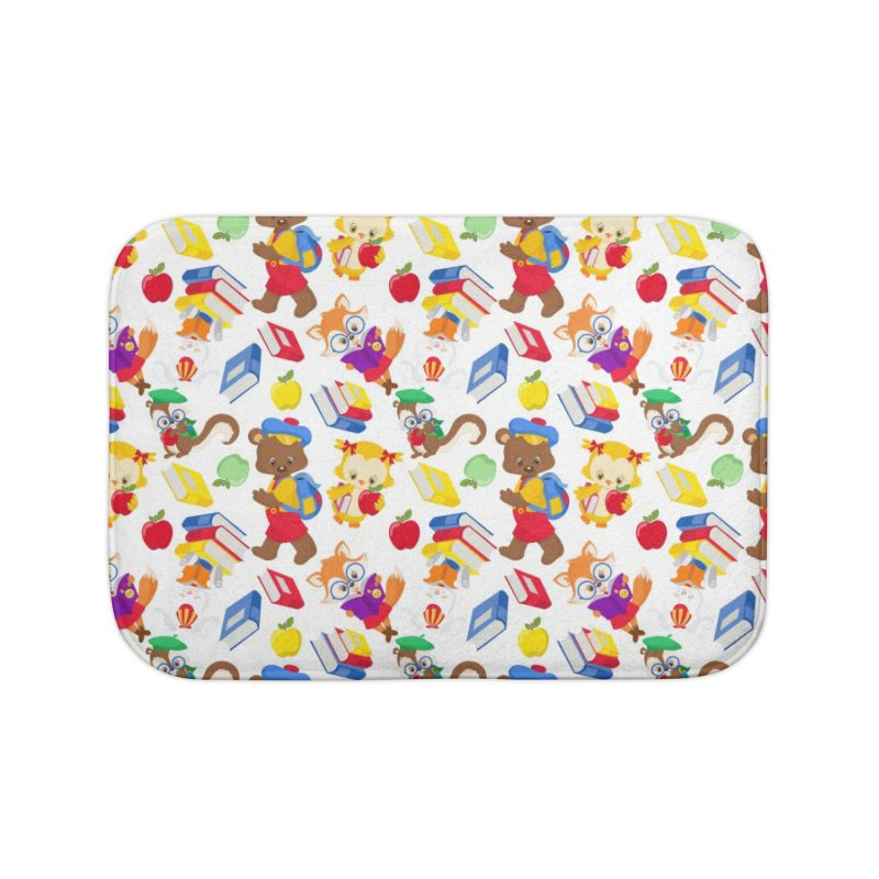 ANIMAL FOREST Home Bath Mat by IF Creation's Artist Shop