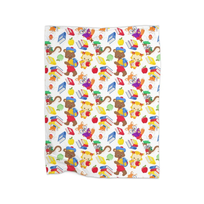 ANIMAL FOREST Home Blanket by IF Creation's Artist Shop
