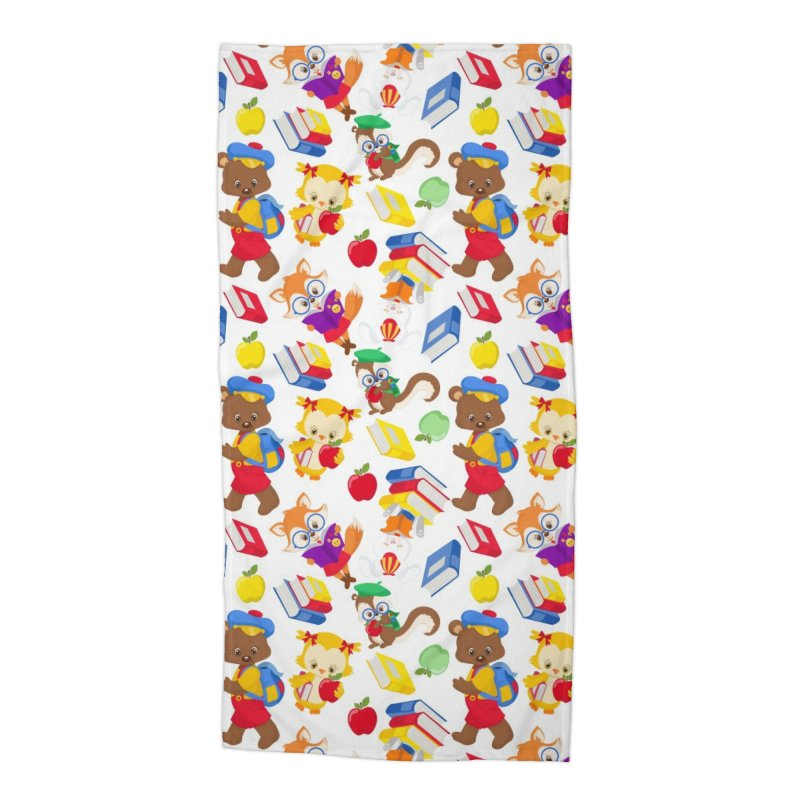 ANIMAL FOREST Accessories Beach Towel by IF Creation's Artist Shop