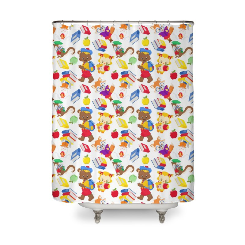 ANIMAL FOREST Home Shower Curtain by IF Creation's Artist Shop