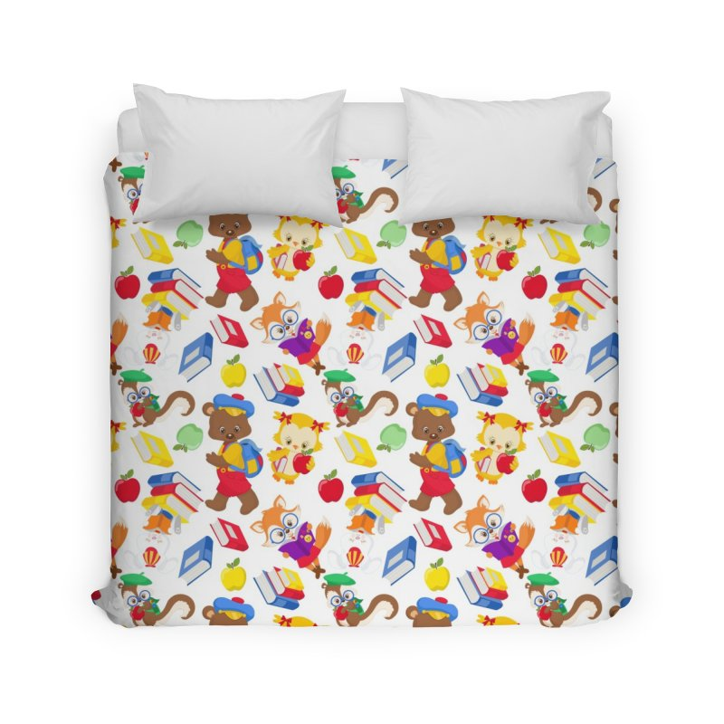 ANIMAL FOREST Home Duvet by IF Creation's Artist Shop