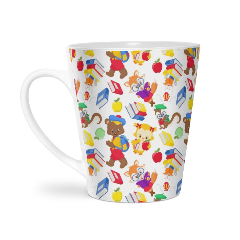 ANIMAL FOREST Accessories Latte Mug by IF Creation's Artist Shop