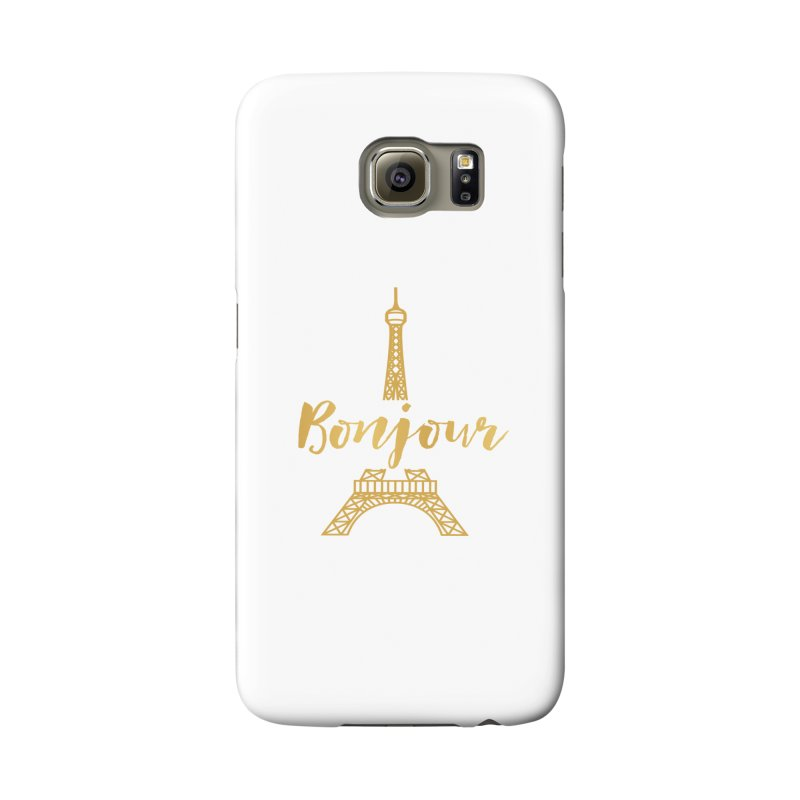BONJOUR! EIFFEL TOWER Accessories Phone Case by IF Creation's Artist Shop