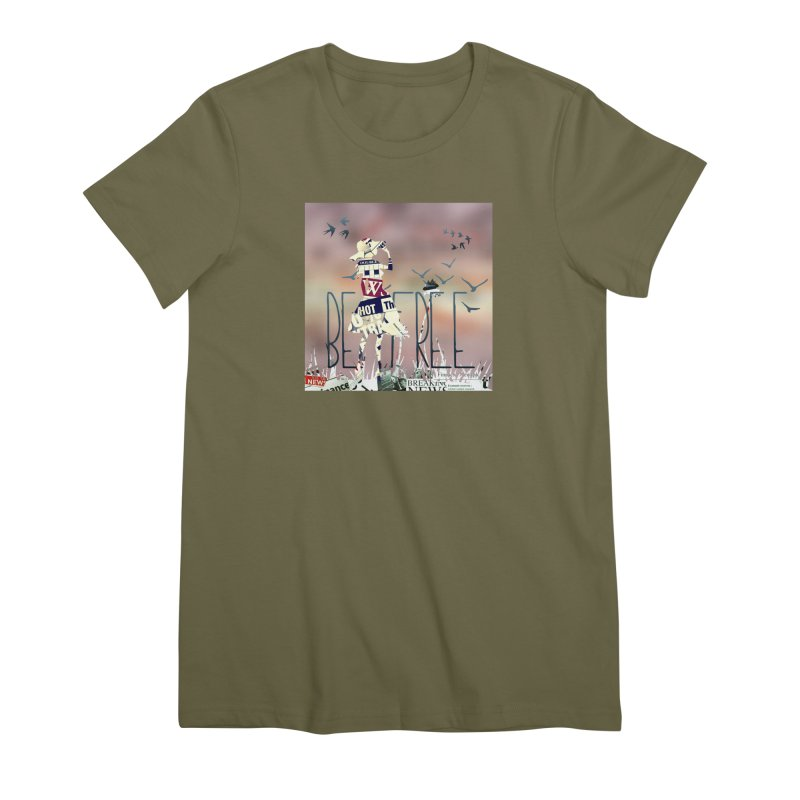 Be Free Women's Premium T-Shirt by IF Creation's Artist Shop