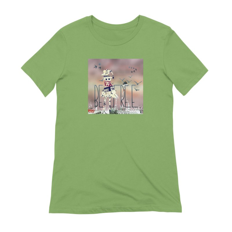 Be Free Women's Extra Soft T-Shirt by IF Creation's Artist Shop