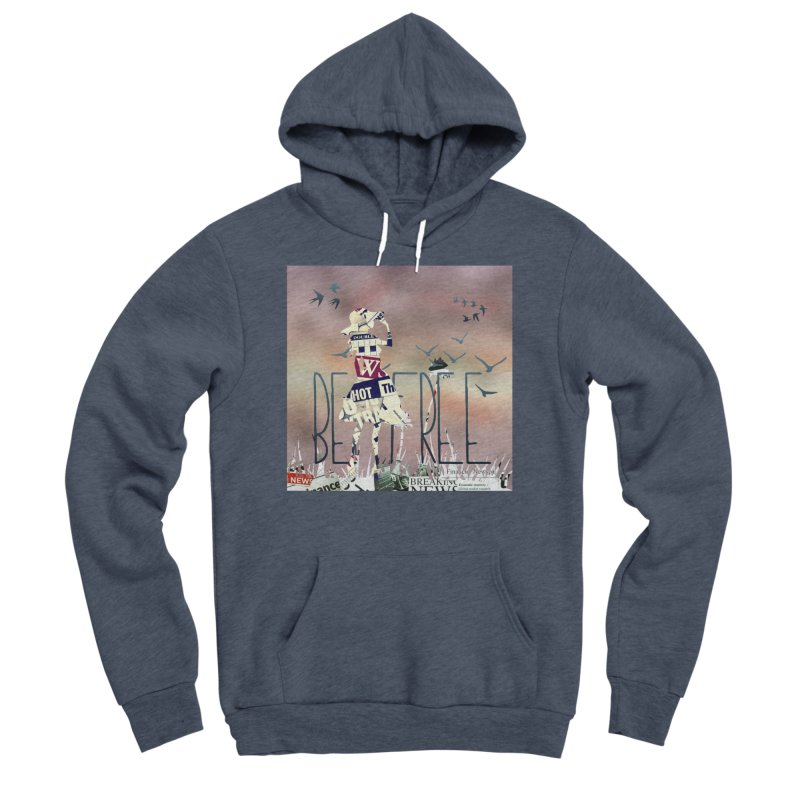 Be Free Women's Sponge Fleece Pullover Hoody by IF Creation's Artist Shop