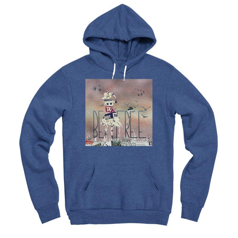 Be Free Women's Sponge Fleece Pullover Hoody by IF Creation's Artist Shop