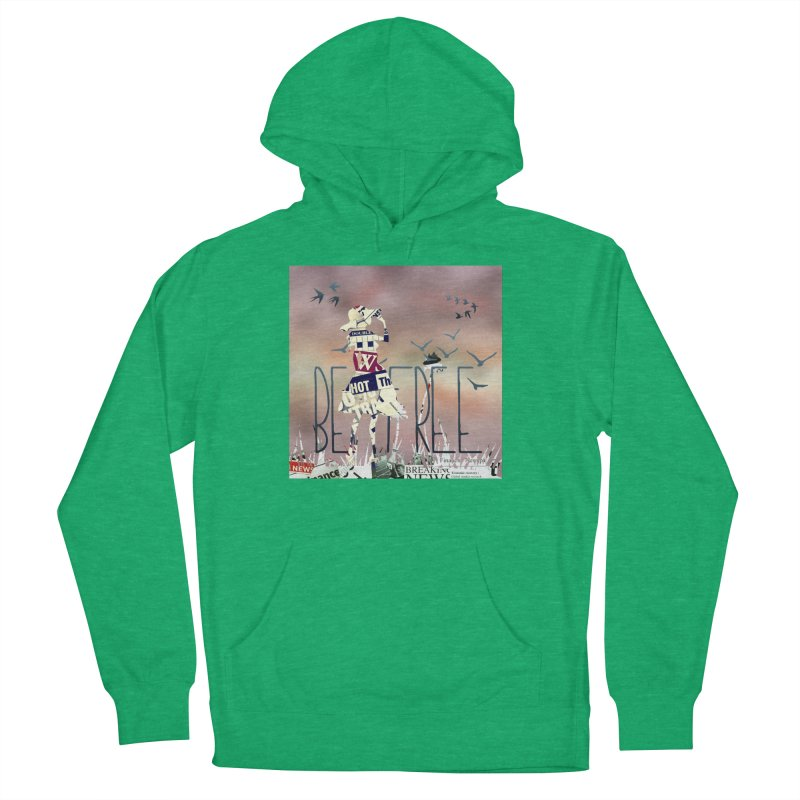 Be Free Women's French Terry Pullover Hoody by IF Creation's Artist Shop
