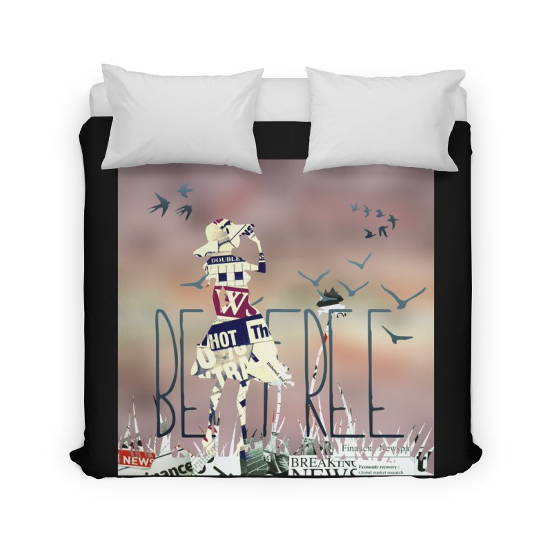 Be Free Home Duvet by IF Creation's Artist Shop