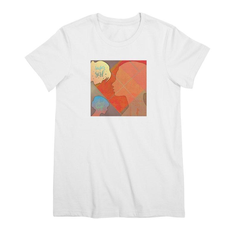 Russet Orange Women's Premium T-Shirt by IF Creation's Artist Shop