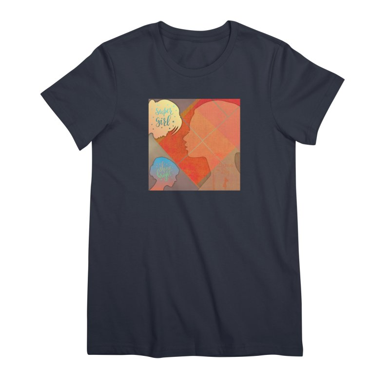 Russet Orange Women's Premium T-Shirt by IF Creation's Artist Shop