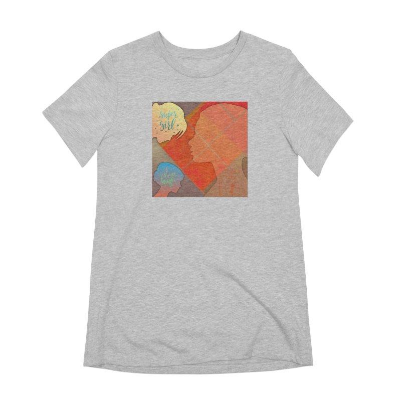 Russet Orange Women's Extra Soft T-Shirt by IF Creation's Artist Shop