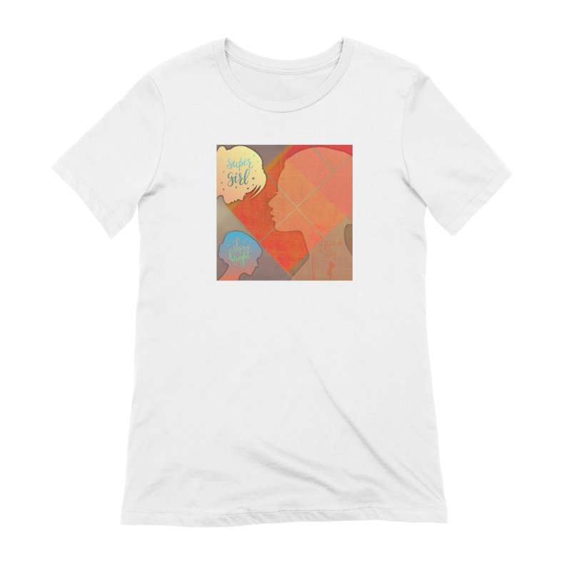 Russet Orange Women's Extra Soft T-Shirt by IF Creation's Artist Shop