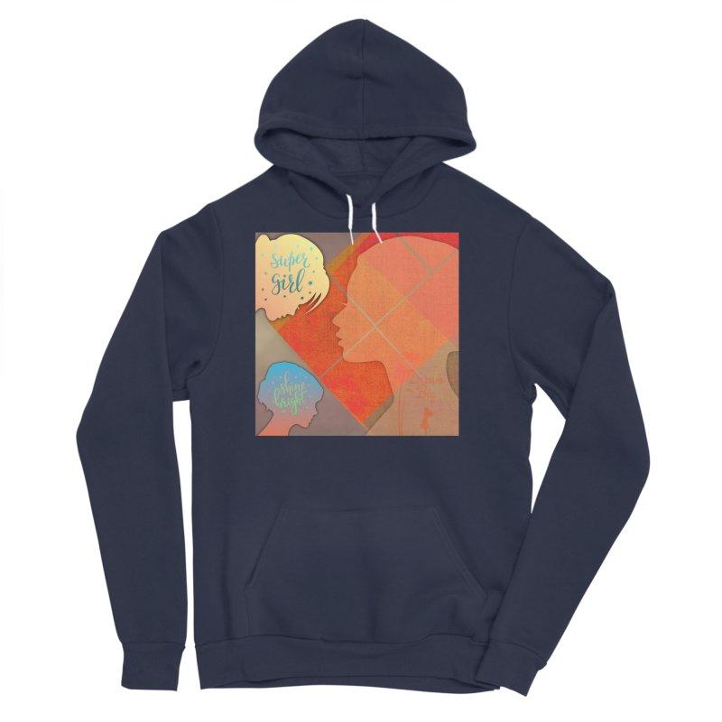 Russet Orange Women's Sponge Fleece Pullover Hoody by IF Creation's Artist Shop