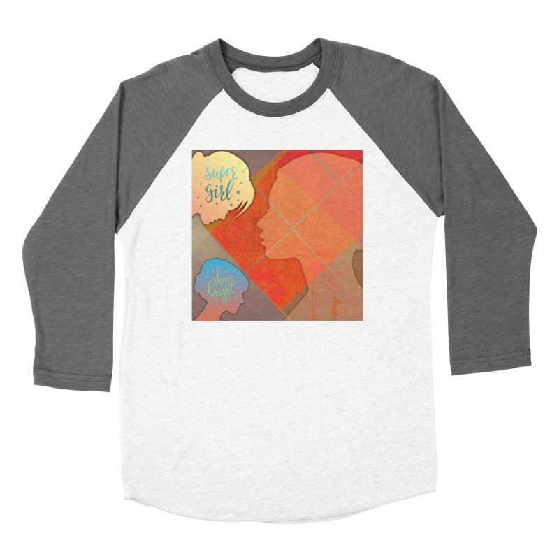 Russet Orange Women's Longsleeve T-Shirt by IF Creation's Artist Shop