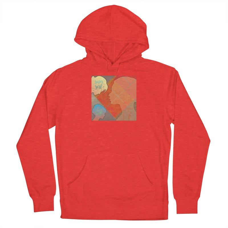 Russet Orange Women's Pullover Hoody by IF Creation's Artist Shop