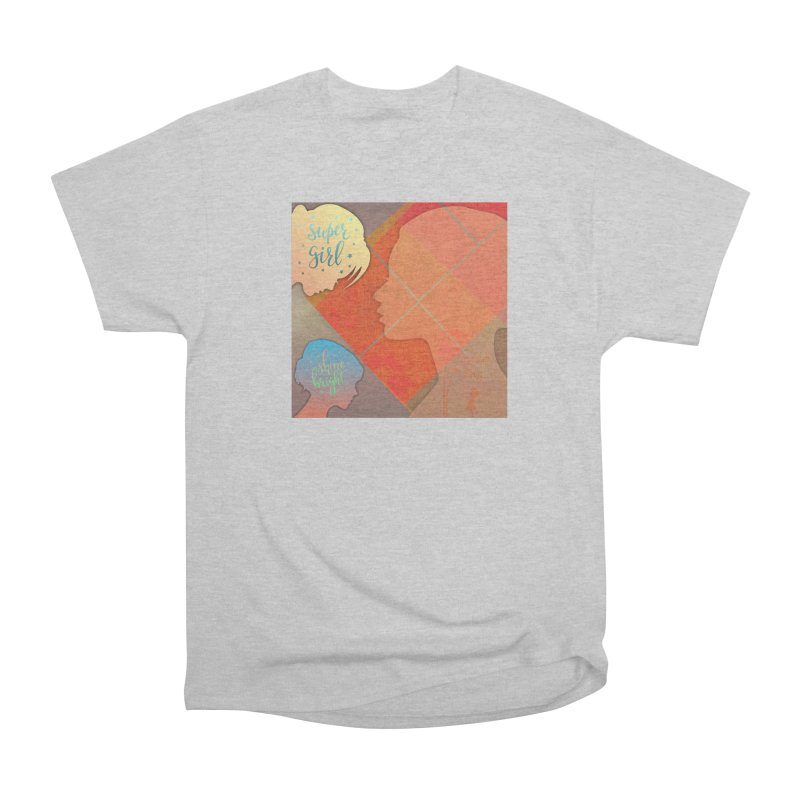 Russet Orange Women's Heavyweight Unisex T-Shirt by IF Creation's Artist Shop