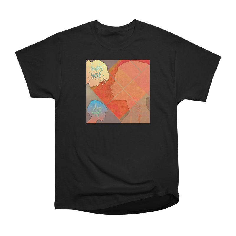 Russet Orange Women's Heavyweight Unisex T-Shirt by IF Creation's Artist Shop