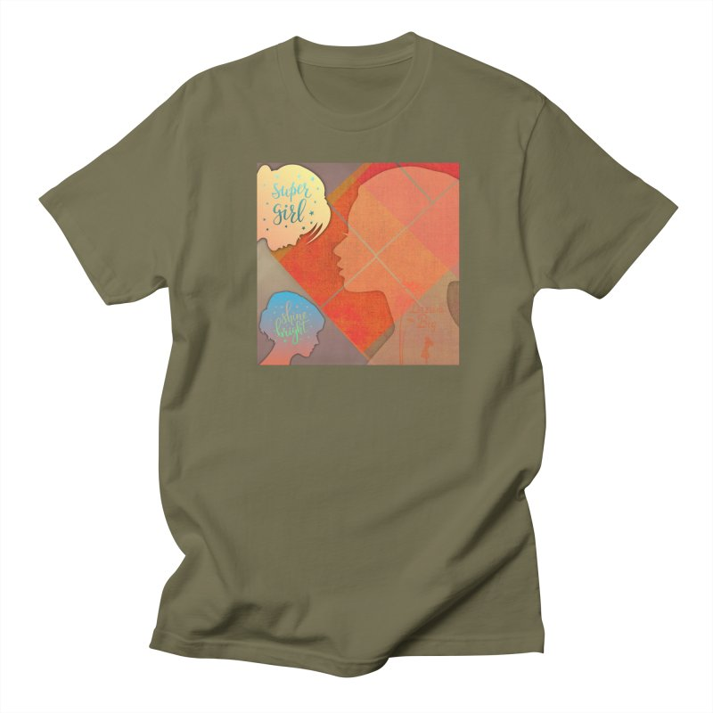 Russet Orange Women's Regular Unisex T-Shirt by IF Creation's Artist Shop