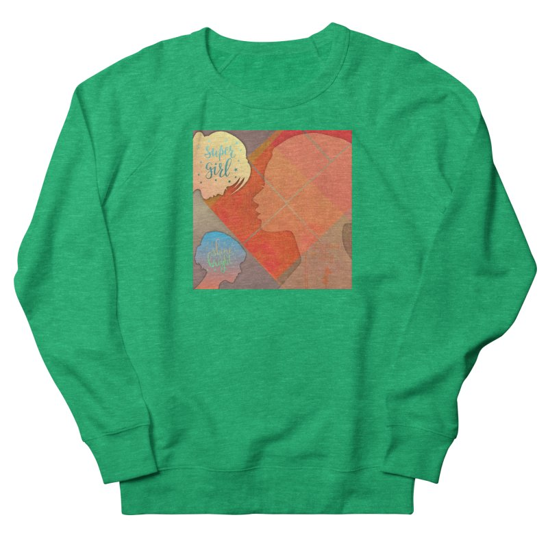 Russet Orange Women's Sweatshirt by IF Creation's Artist Shop