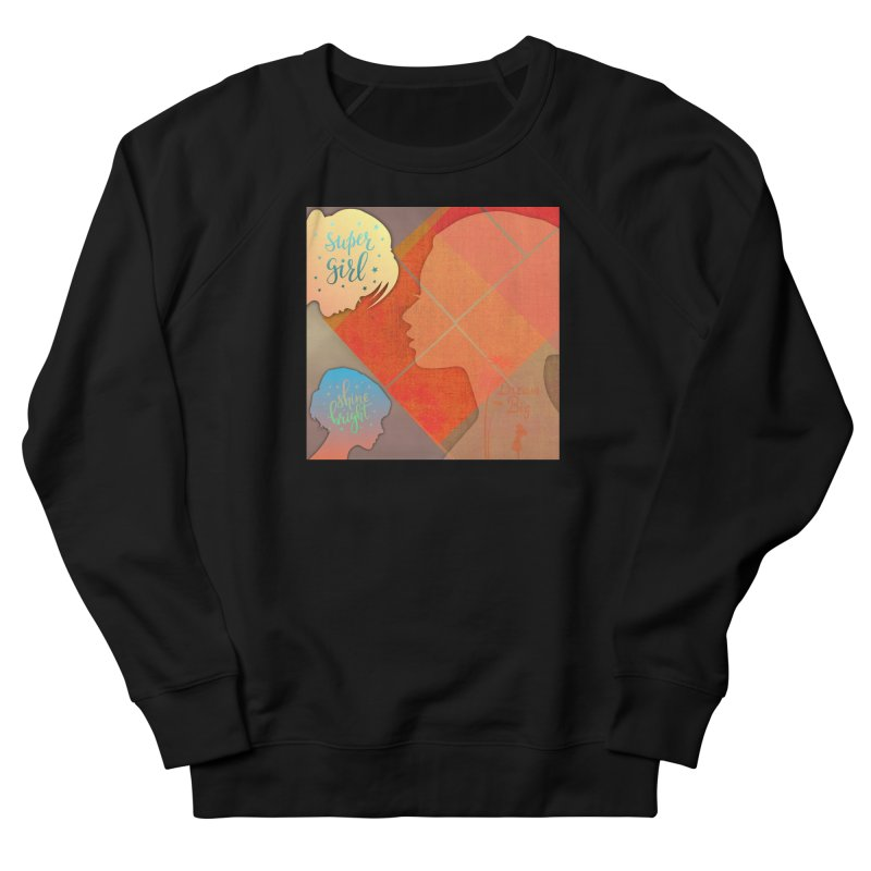 Russet Orange Women's French Terry Sweatshirt by IF Creation's Artist Shop