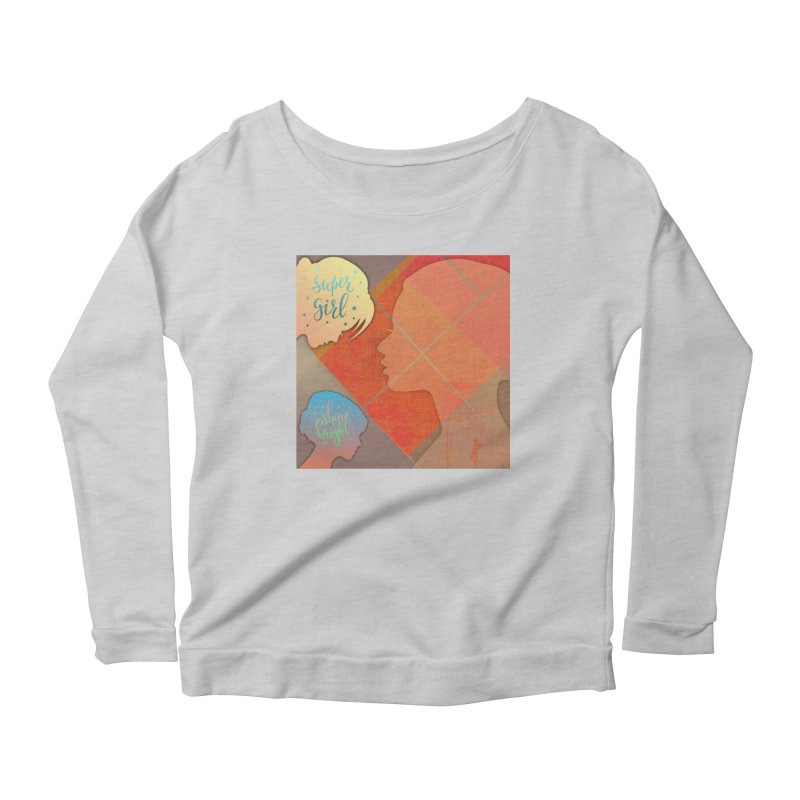 Russet Orange Women's Longsleeve T-Shirt by IF Creation's Artist Shop