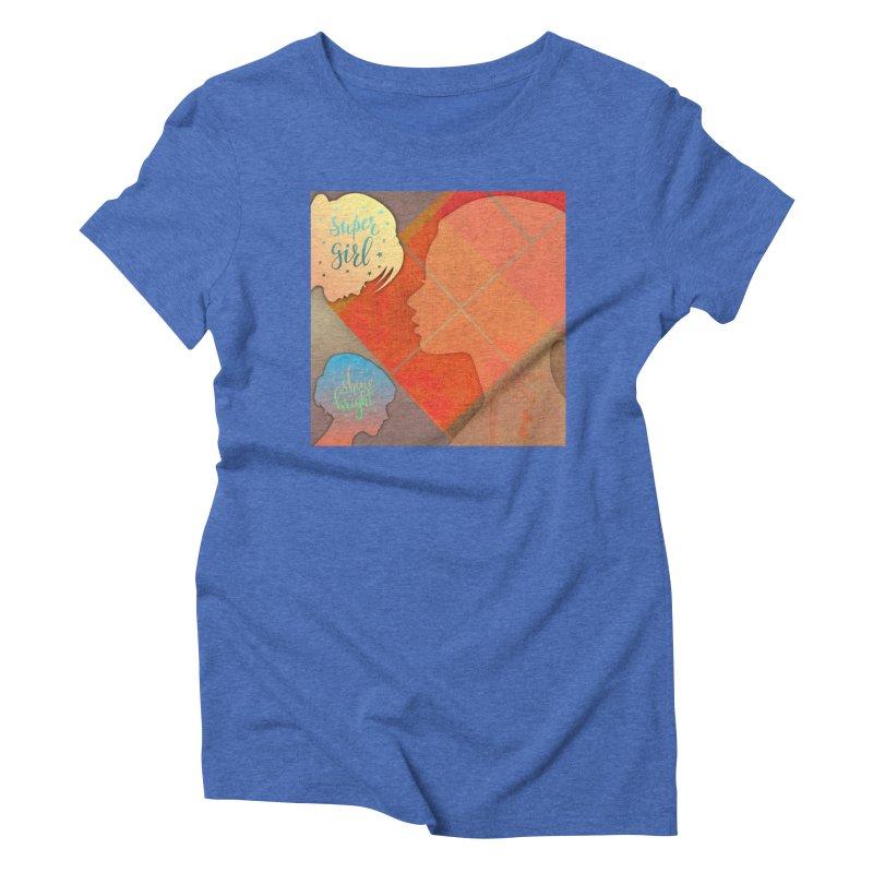 Russet Orange Women's Triblend T-Shirt by IF Creation's Artist Shop