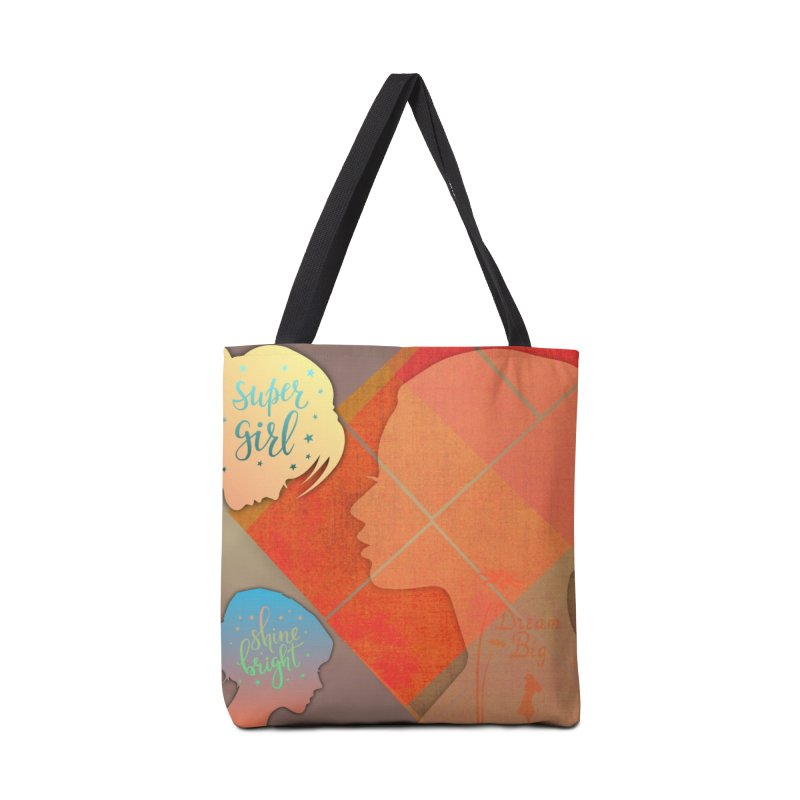 Russet Orange Accessories Bag by IF Creation's Artist Shop