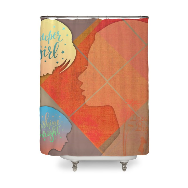 Russet Orange Home Shower Curtain by IF Creation's Artist Shop