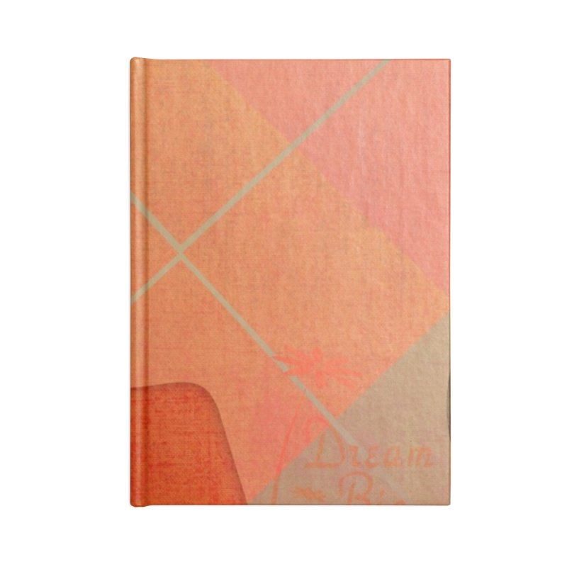 Russet Orange Accessories Blank Journal Notebook by IF Creation's Artist Shop