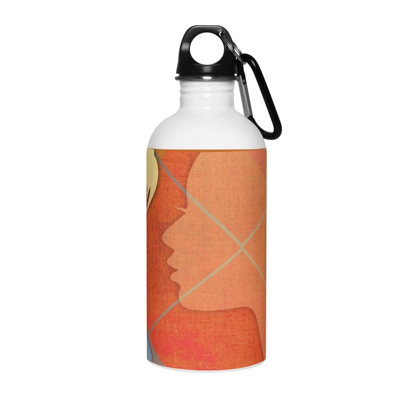 Russet Orange Accessories Water Bottle by IF Creation's Artist Shop