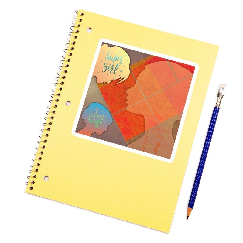 Russet Orange Accessories Sticker by IF Creation's Artist Shop