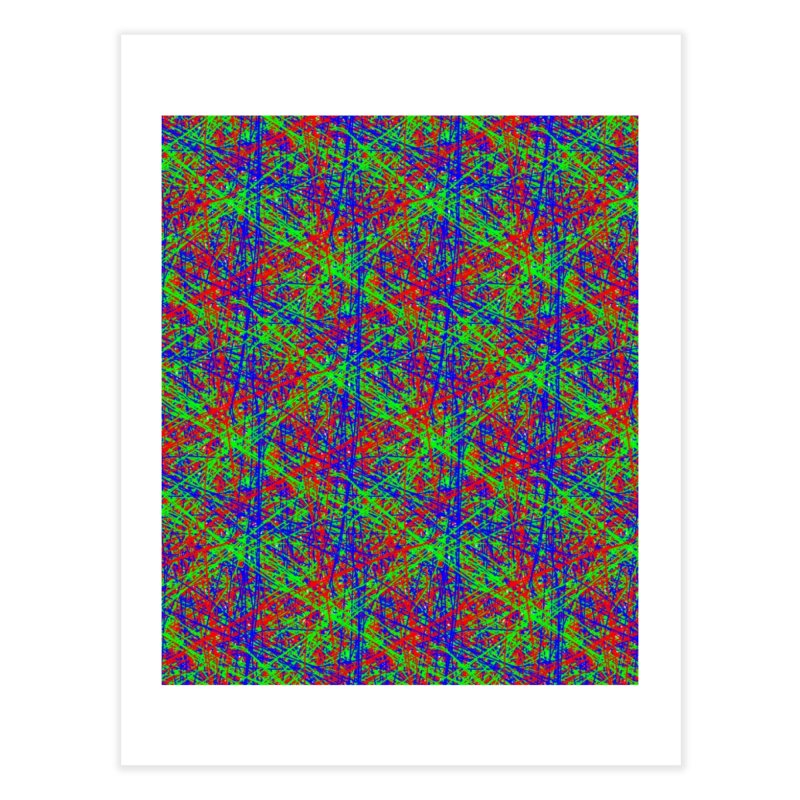 Crazy Lines Home Fine Art Print by IF Creation's Artist Shop