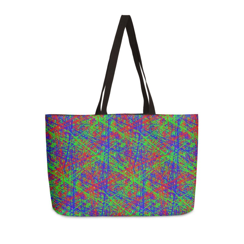 Crazy Lines Accessories Bag by IF Creation's Artist Shop