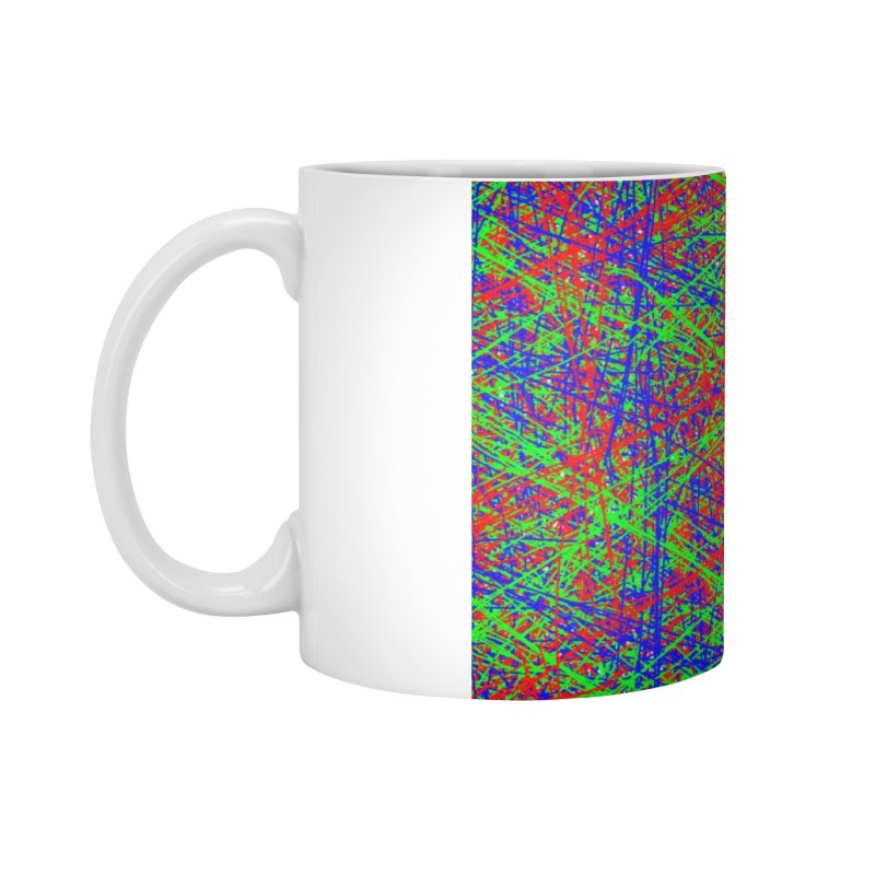 Crazy Lines Accessories Standard Mug by IF Creation's Artist Shop