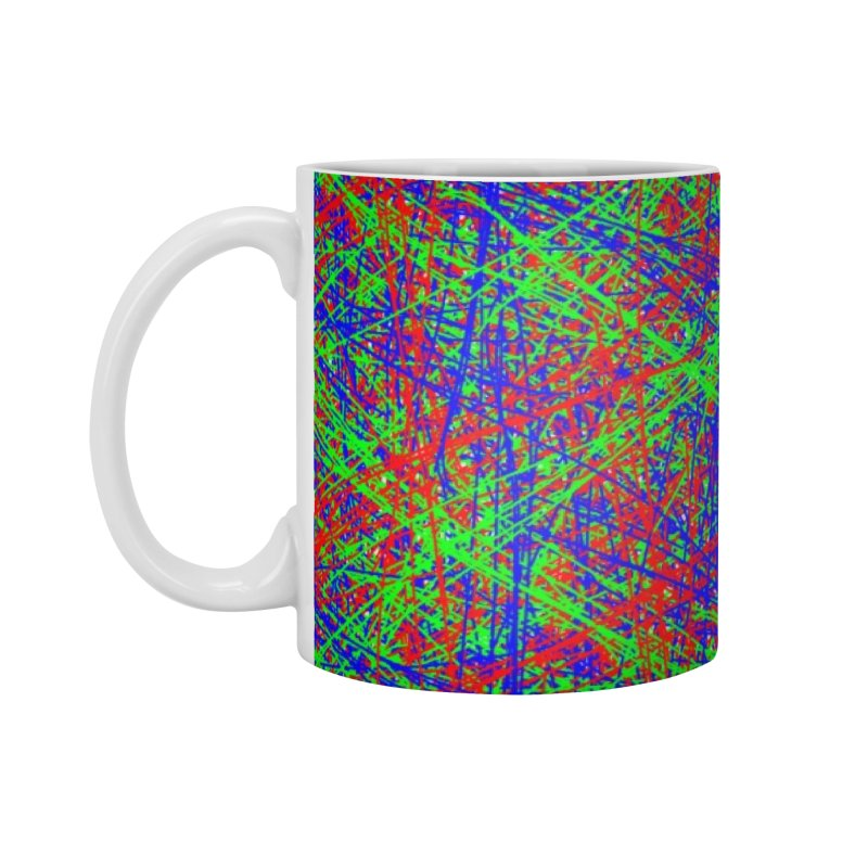 Crazy Lines Accessories Mug by IF Creation's Artist Shop