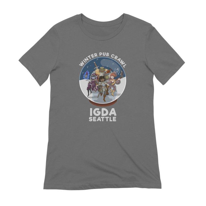 IGDA Seattle - Winter Pub Crawl Women's T-Shirt by IGDASeattle's Shop