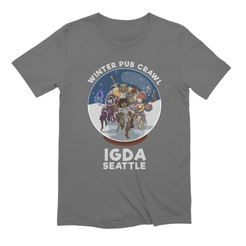 IGDA Seattle - Winter Pub Crawl Men's T-Shirt by IGDASeattle's Shop