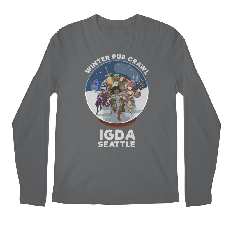 IGDA Seattle - Winter Pub Crawl Men's Longsleeve T-Shirt by IGDASeattle's Shop