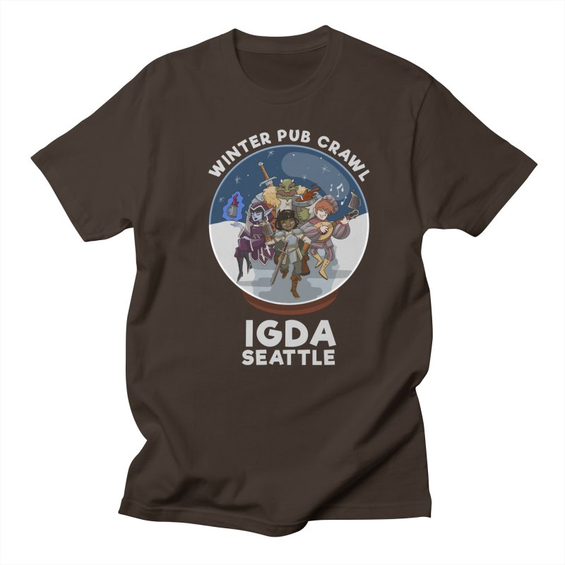 IGDA Seattle - Winter Pub Crawl Men's T-Shirt by IGDASeattle's Shop