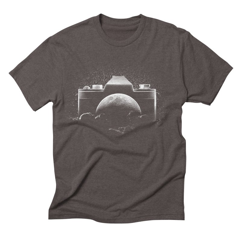 CAMERAMOON Men's Triblend T-shirt by ISMAILKOCABAS's Artist Shop