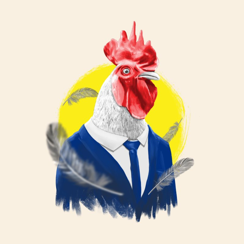ROOSTER MAN None  by ISMAILKOCABAS's Artist Shop