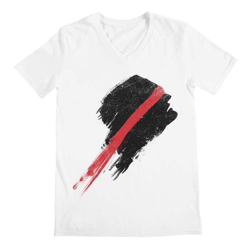 SCREAM Men's V-Neck by ISMAILKOCABAS's Artist Shop