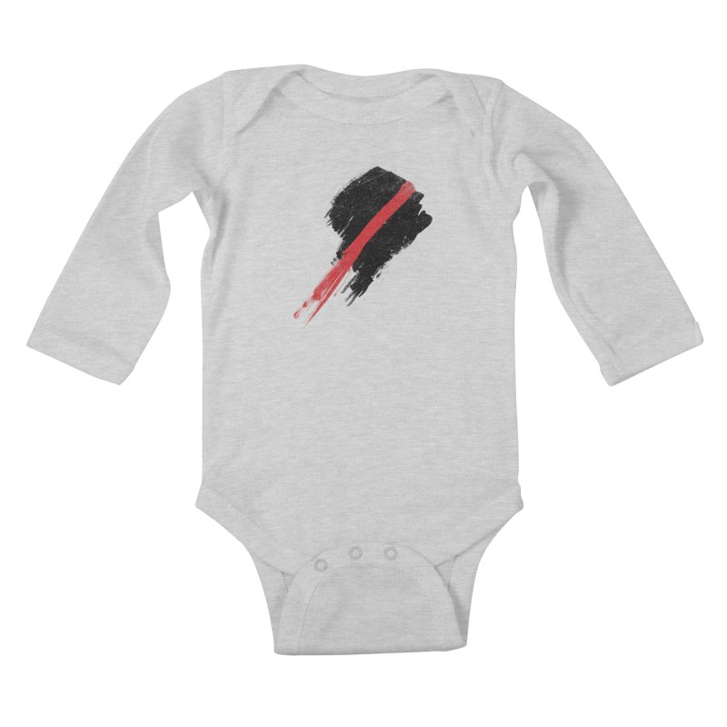 SCREAM Kids Baby Longsleeve Bodysuit by ISMAILKOCABAS's Artist Shop