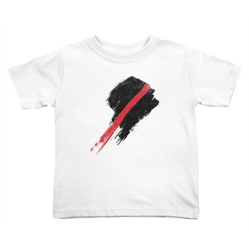SCREAM Kids Toddler T-Shirt by ISMAILKOCABAS's Artist Shop