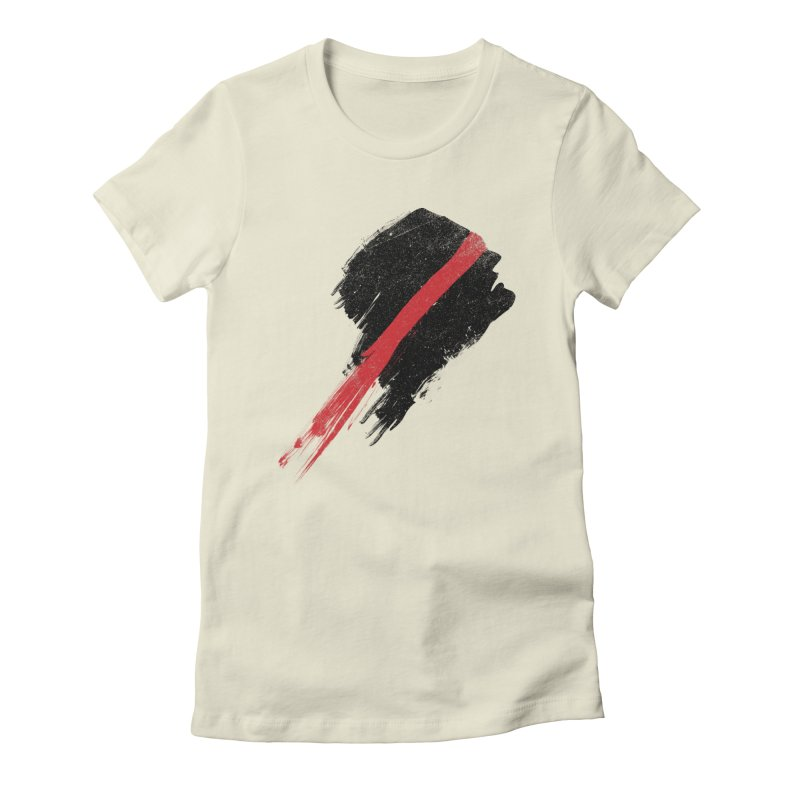 SCREAM Women's Fitted T-Shirt by ISMAILKOCABAS's Artist Shop